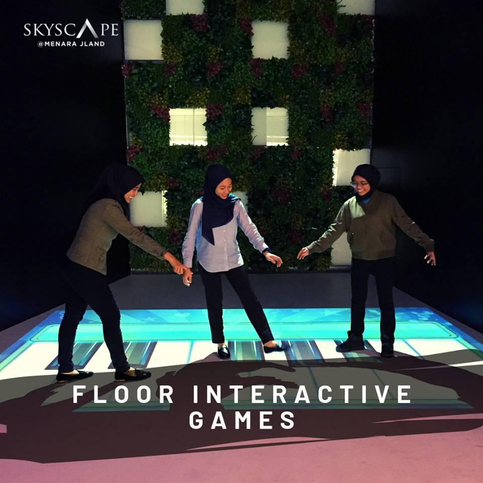 Floor interactive games Skyscape