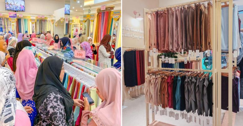 Raya shopping in jb