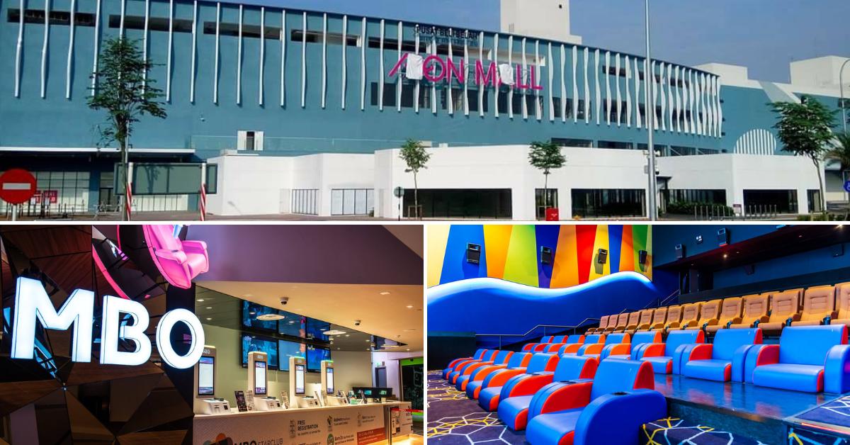Mbo Cinemas Has Opened Its Curtains At Aeon Bandar Dato Onn