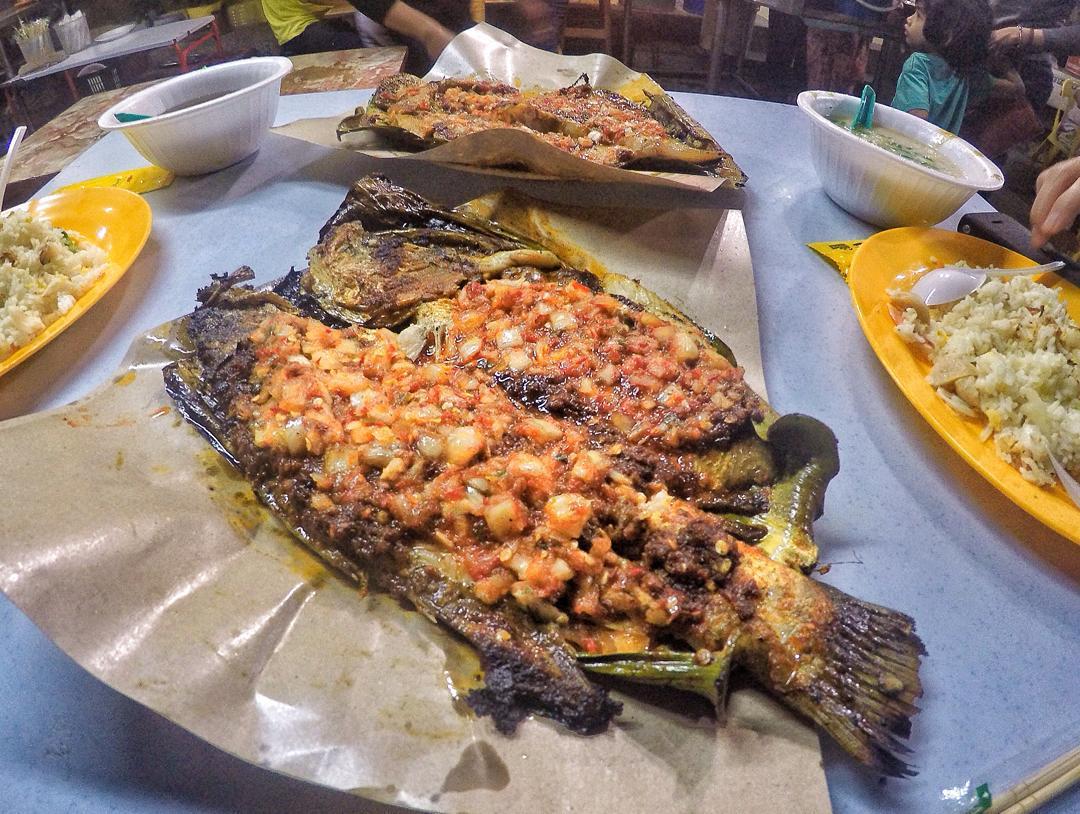 Ikan Bakar in Johor
