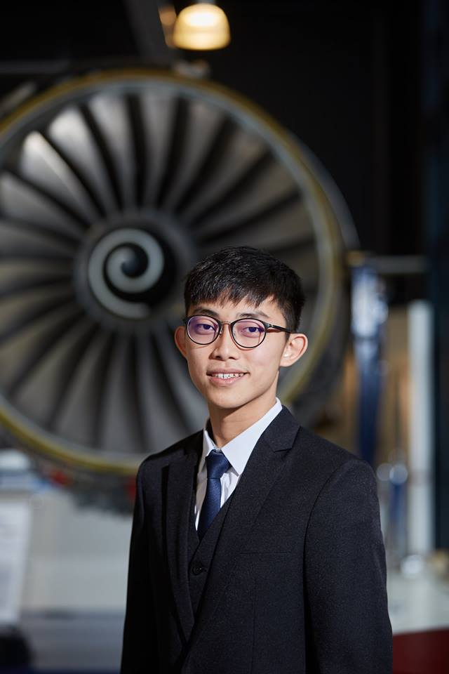 Yew Jun Ying — Winner of the Electrical Challenge sponsored by Rolls-Royce in STEM Awards