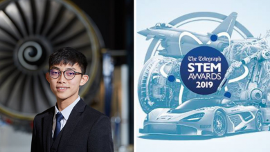 Yew Jun Ying from Johor — Winner of the Electrical Challenge sponsored by Rolls-Royce in STEM Awards