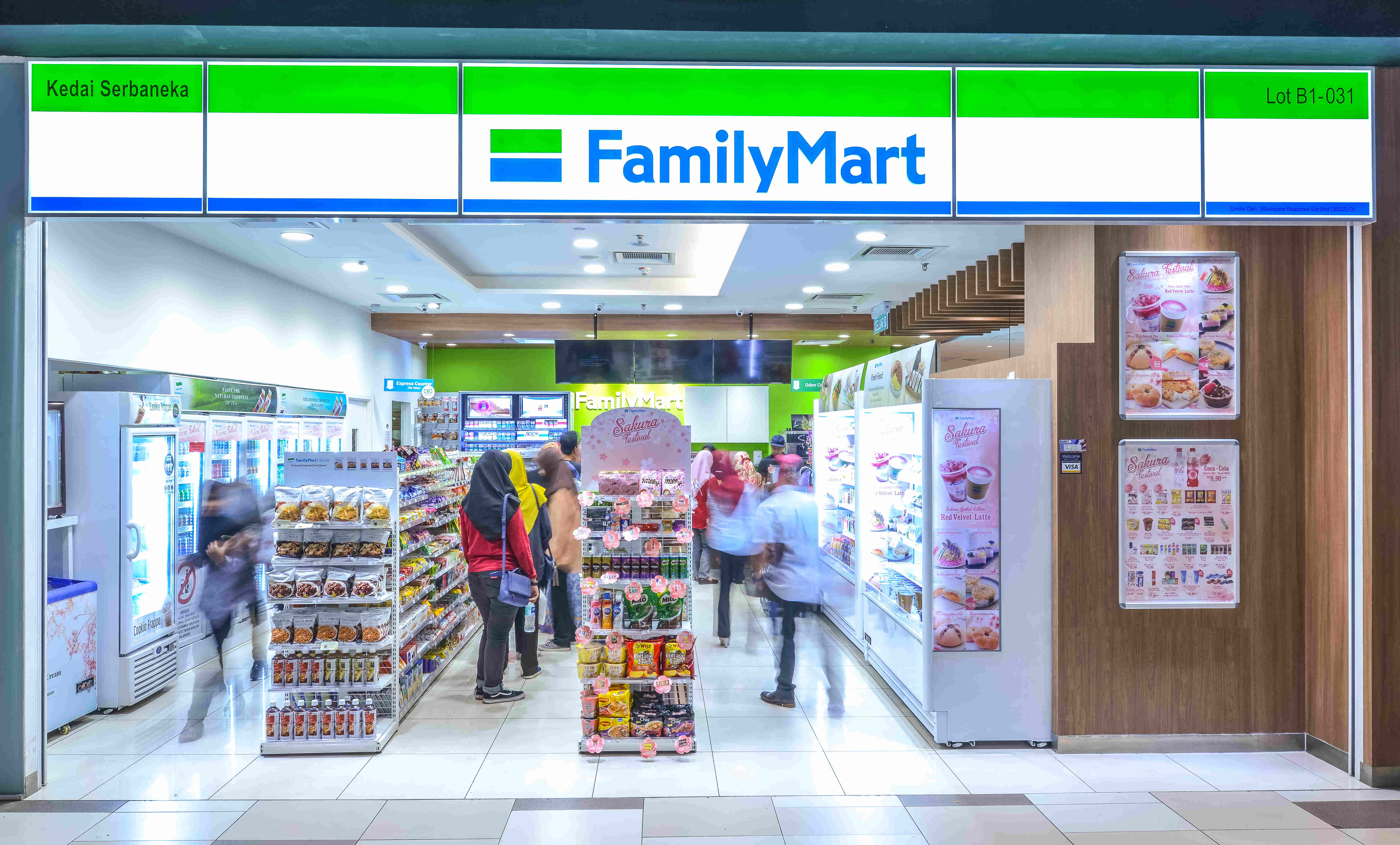 family mart opens in Skudai