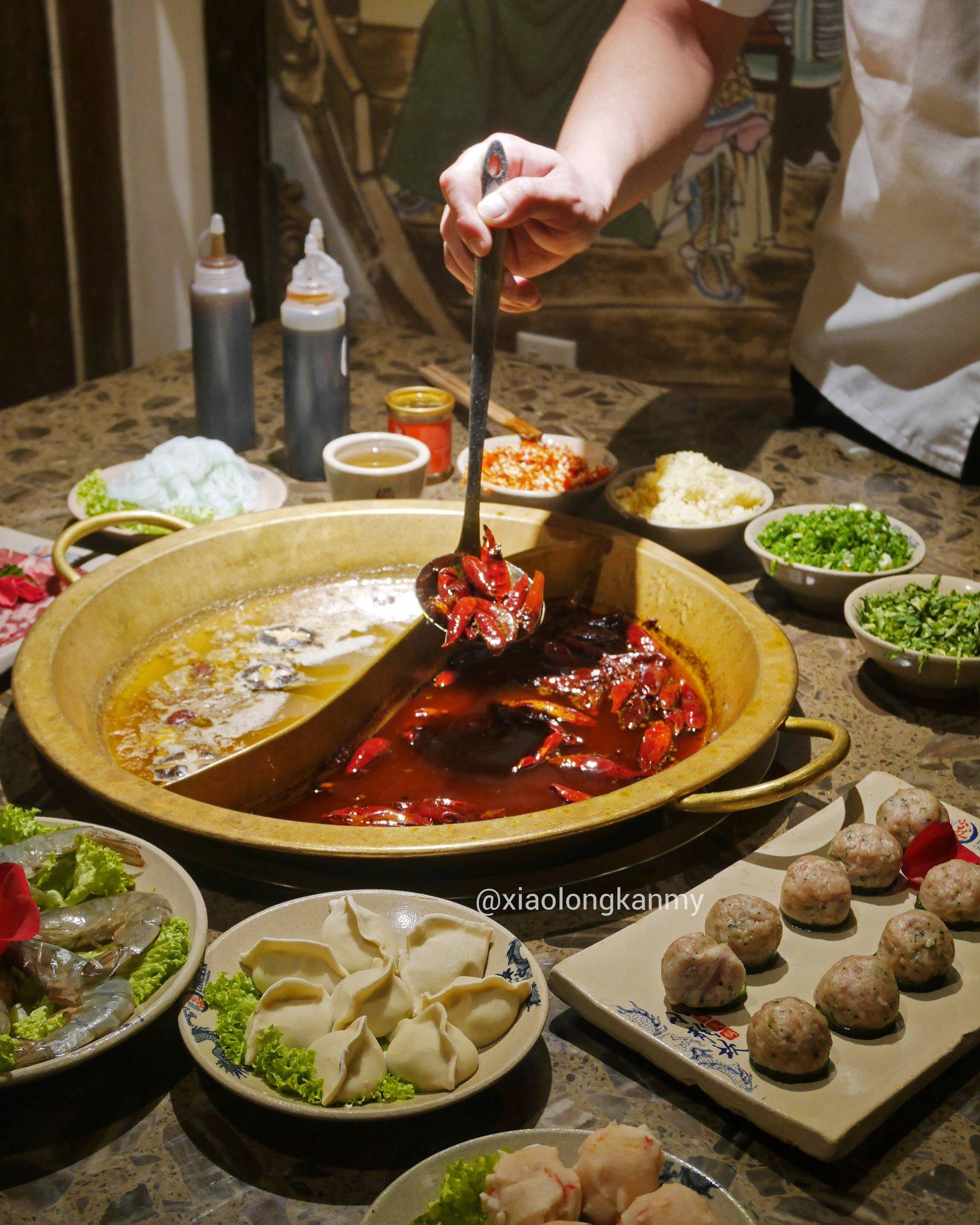 Xiao long kan hotpot in Johor