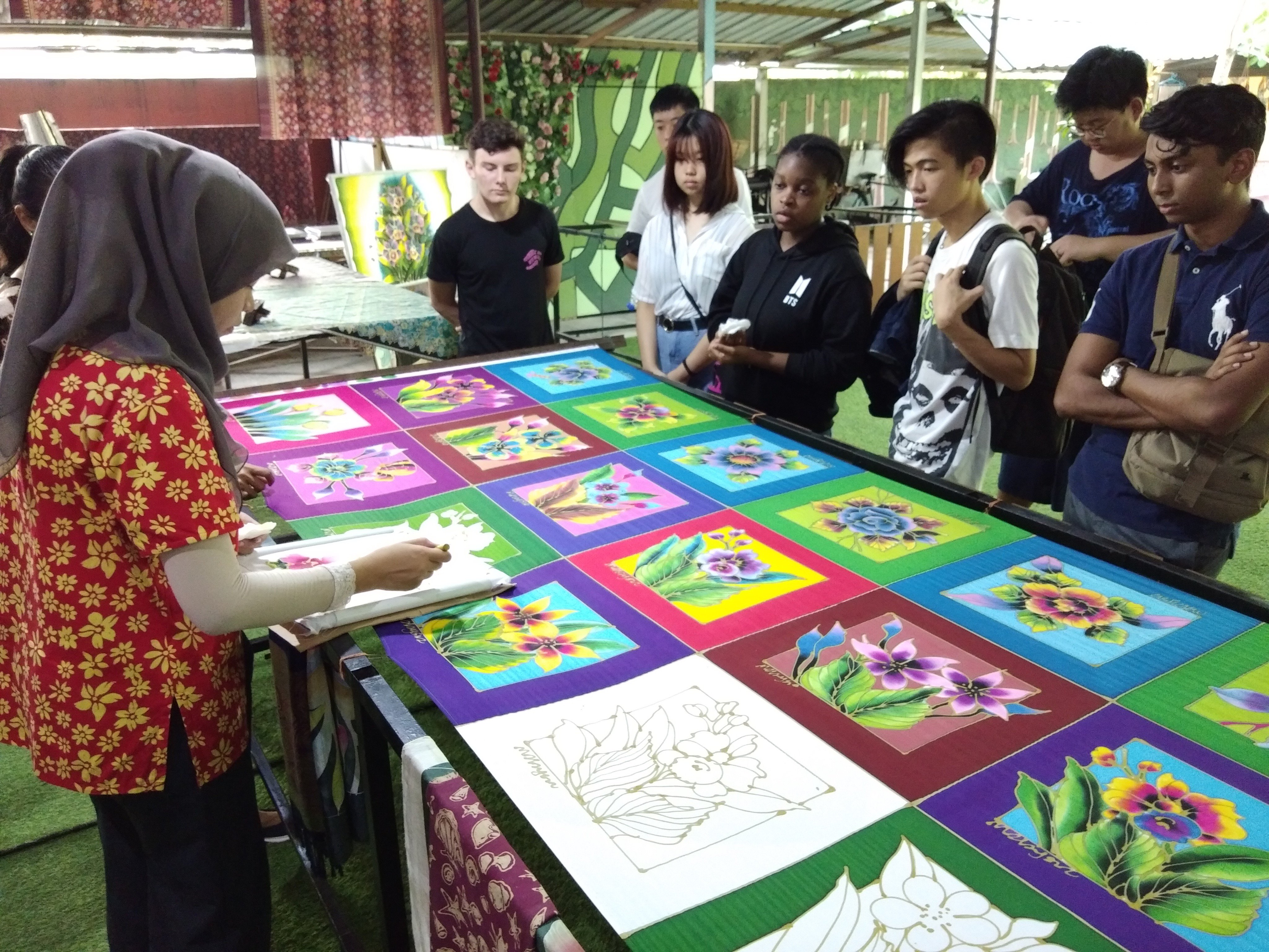 The Malay cultural village