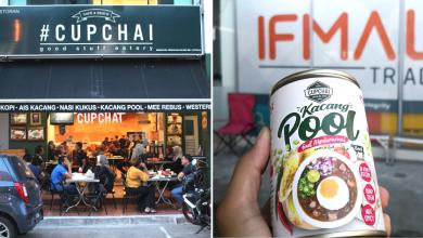Cupchai Kacang Pool in a can