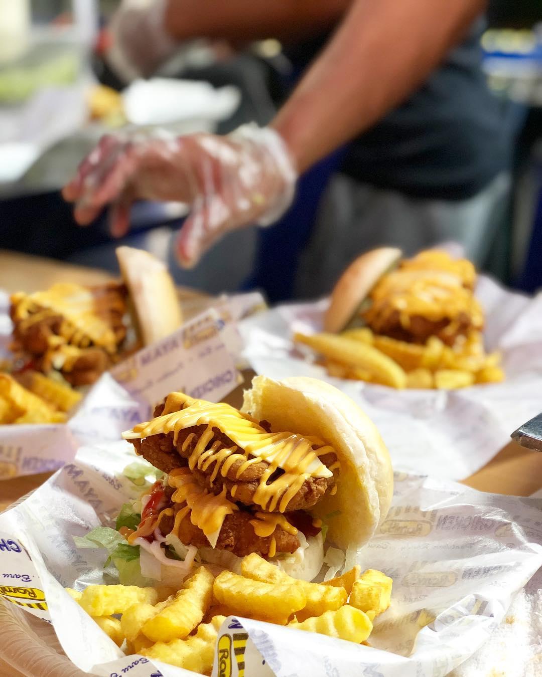 Burger Mak Busu