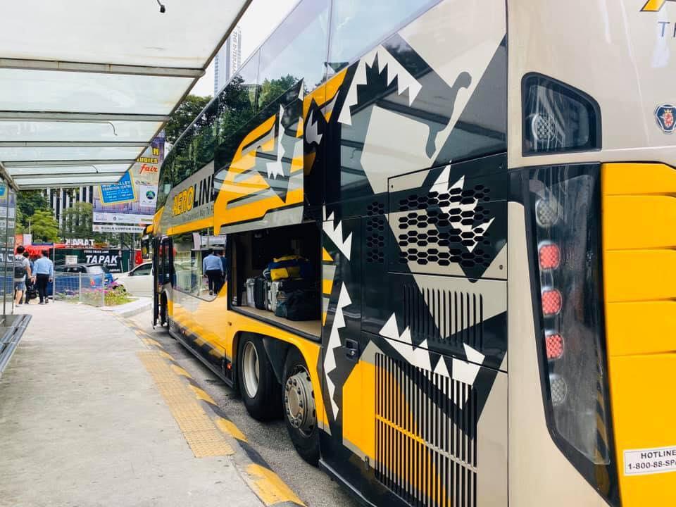 Aeroline Bus JB-Klang Valley