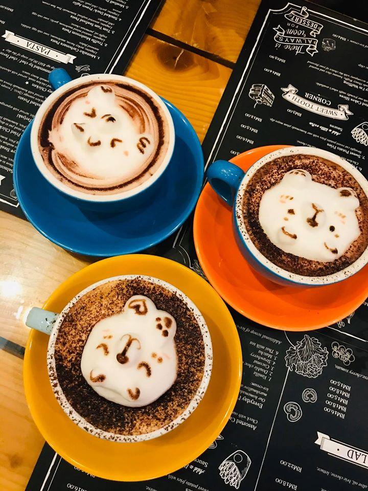 Bear Hands Coffee JB