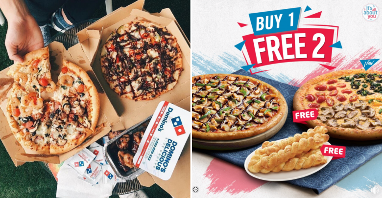 Domino S Pizza Brings Back Buy 1 Free 2 Deal For A Limited Time Only Johor Foodie