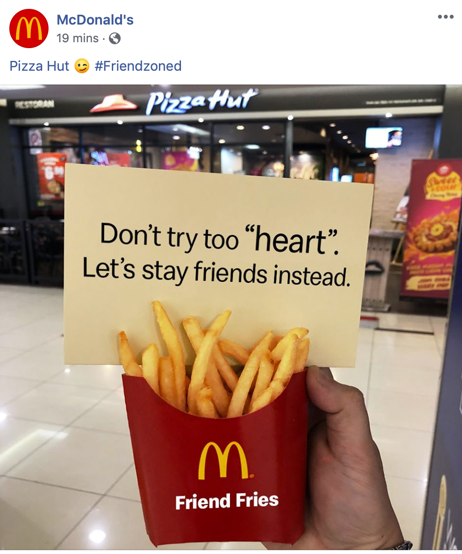 McD reacts to Pizza Heart