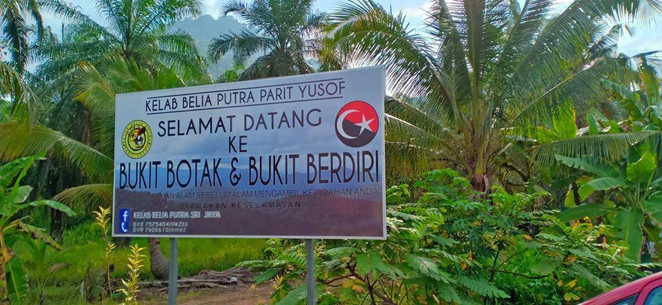 Bukit Botak Bukit Berdiri, Johor