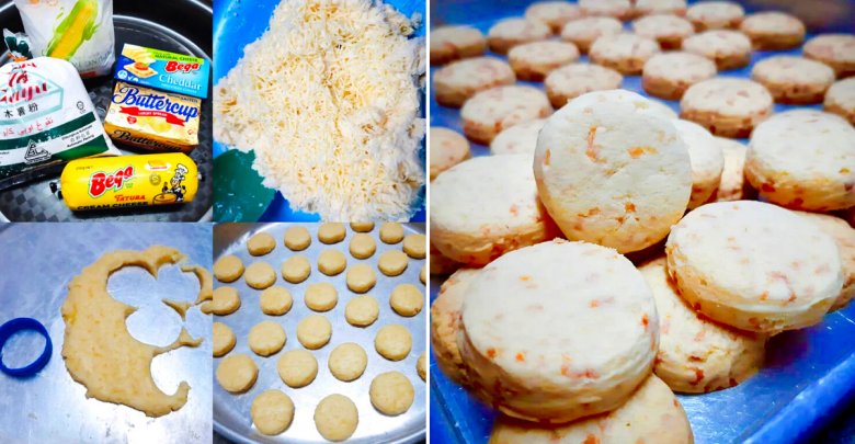 Kuih Bangkit Cheese: Try Out This Traditional Kuih Raya Recipe With A  Cheesy Twist - Johor Foodie