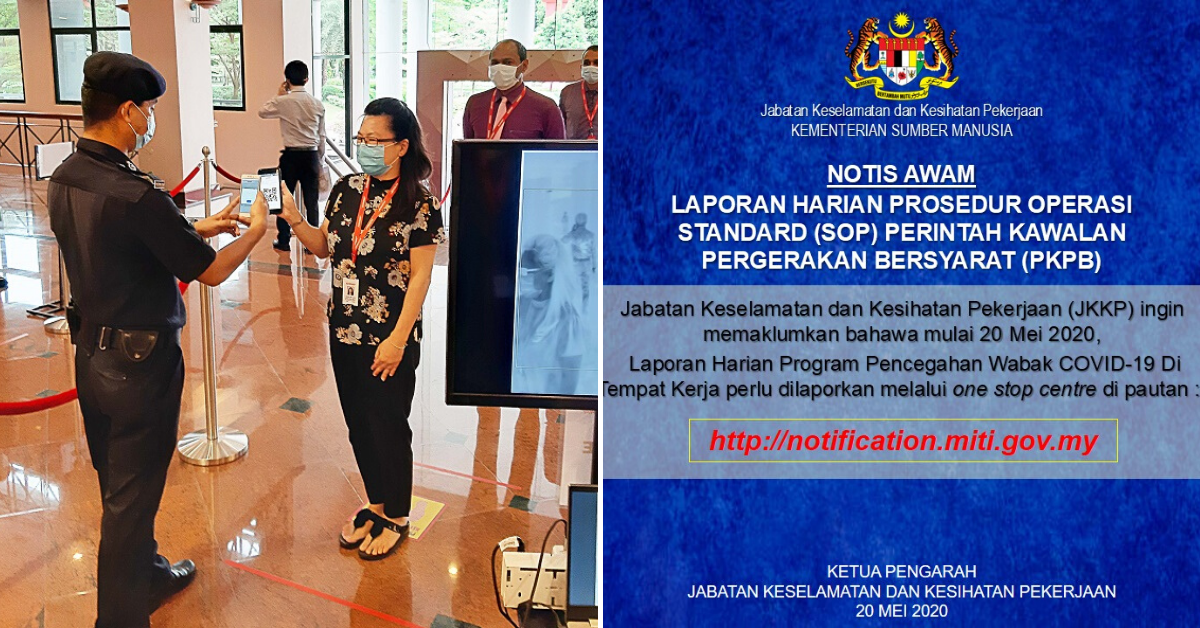 All Operating Businesses Are Required To Submit Daily Report To Miti Starting From 20th May 2020 Johor Foodie