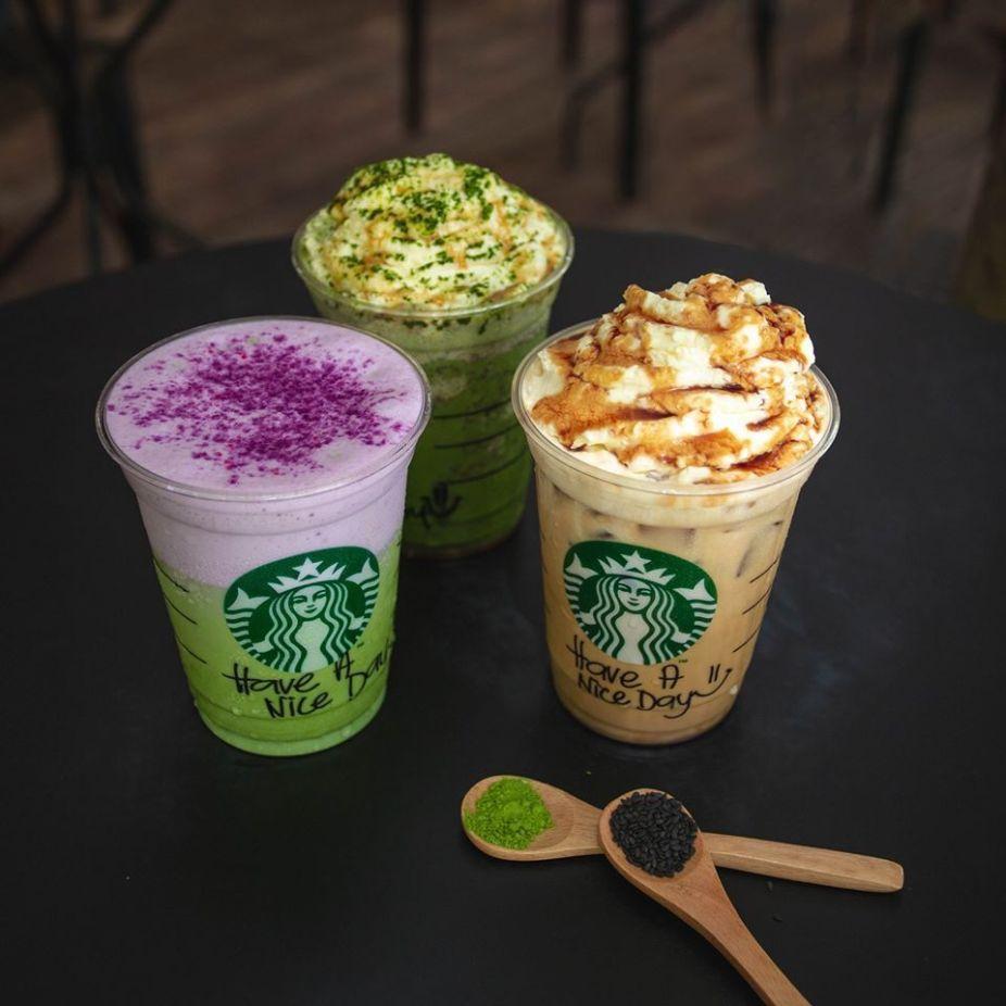 Starbucks black sesame