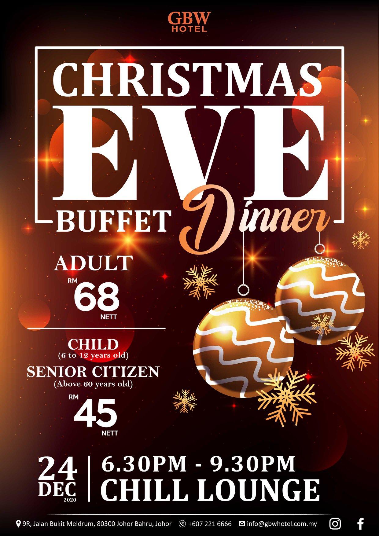 johor christmas buffet