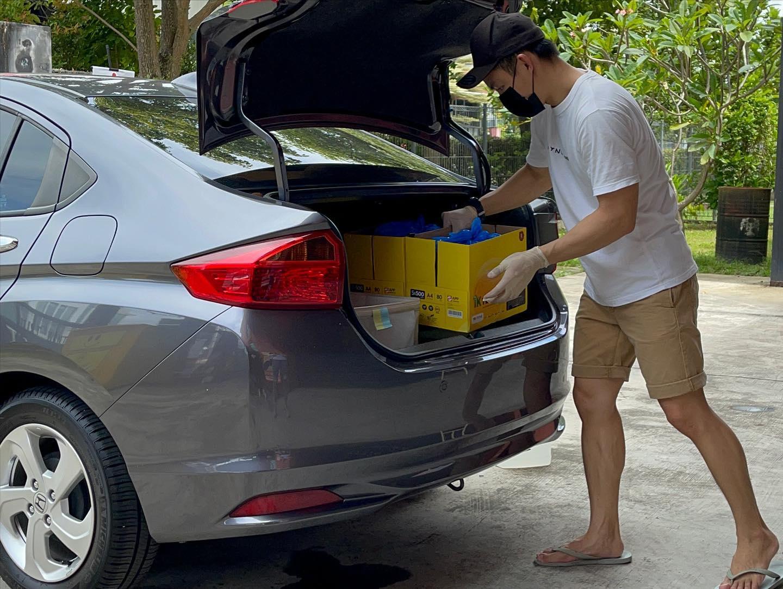 Yellow Bin Drive Thru Recycle JB
